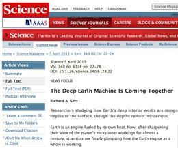 Science 05.04.13: Focus News